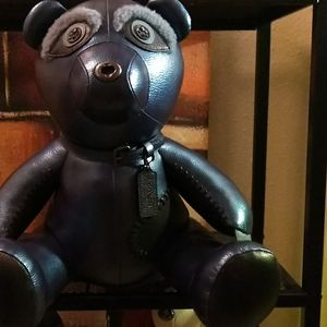 Bran new coach metallic bear full size